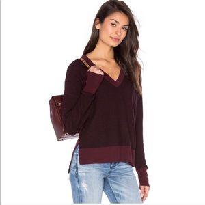Rag & Bone Taylor Vneck wool sweater XS